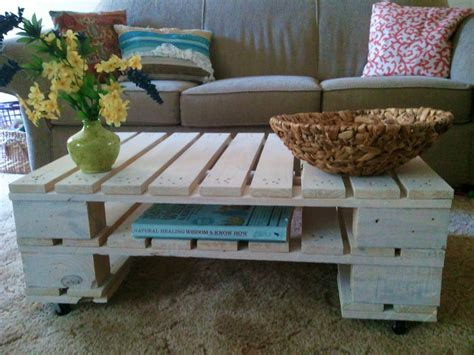 Coffee Table With Pallets 21 Ways Of Turning Pallets Into Unique Pieces Of Furniture