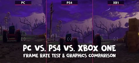 fortnite xbox fortnite pc vs ps4 vs xbox one graphics comparison