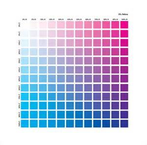 cmyk color chart sle cmyk color chart 8 free documents in pdf