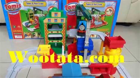 Mainan Eduka Tomis Big Loader jual mainan kereta api tomis port crane murah
