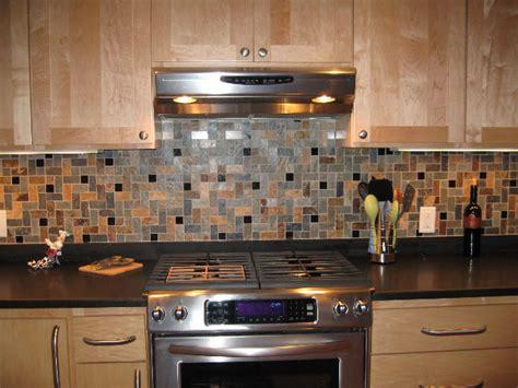 travertine herringbone slate granite mosaic tiles kitchen