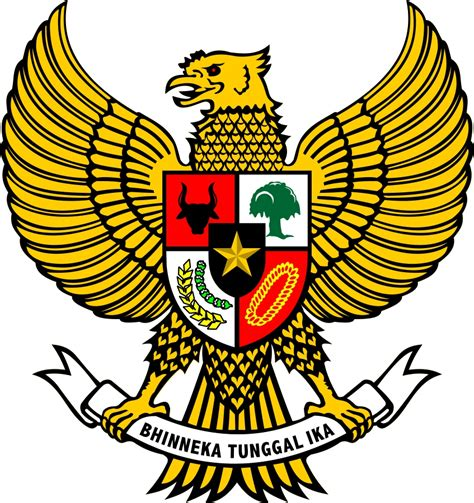 desain gambar garuda gambar burung garuda pancasila lambang negara indonesia