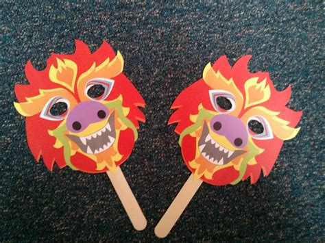 new year children s masks masks for new year storytime the