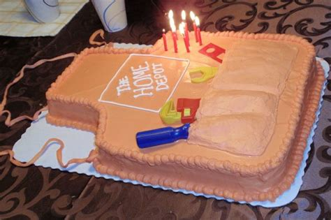 home depot birthday cake keli could do this