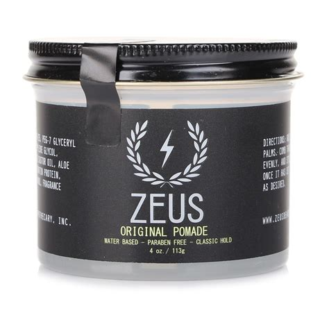 Pomade Water zeus original hold hair shaping pomade water based pomade