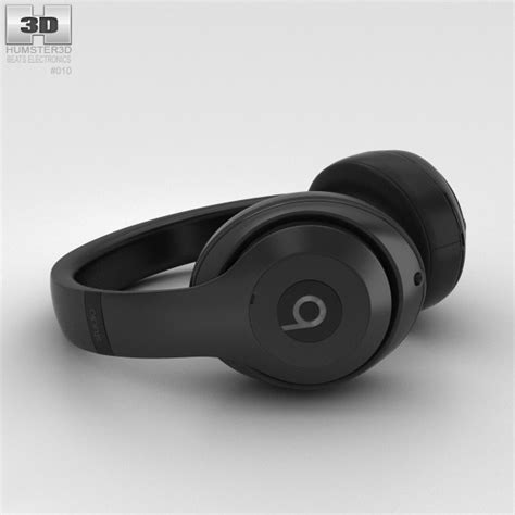 beats by dre studio matte black beats by dr dre studio ear headphones matte black 3d