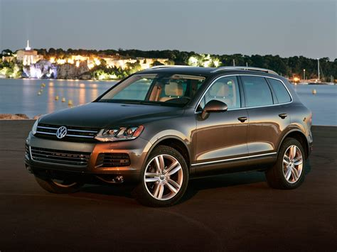 2013 Volkswagen Touareg Price Photos Reviews Features