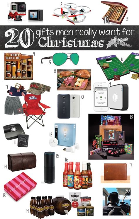 20 gifts men really want for christmas c makery with