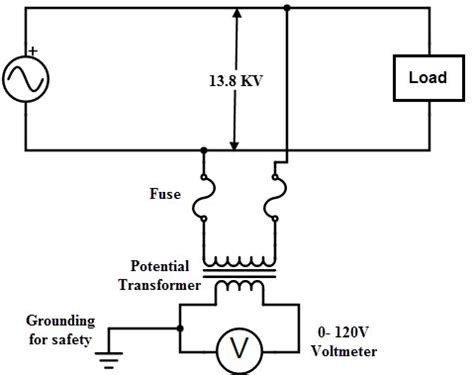 potential transformer wiring diagram wiring diagram with
