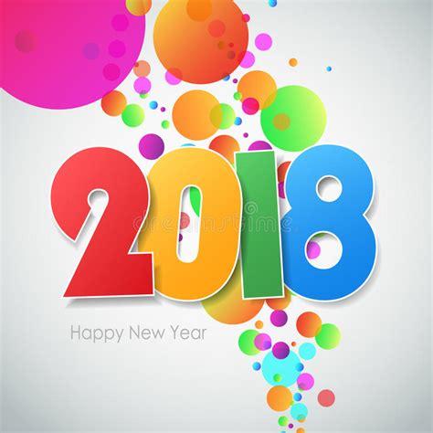 clipart buon anno cartolina d auguri 2018 buon anno illustrazione