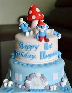 the smurfs cake cake pantry