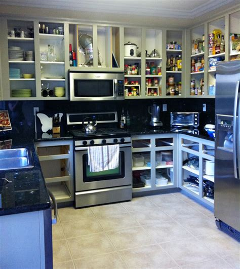 No Door Kitchen Cabinets Amazing Kitchen Cabinets With No Doors Greenvirals Style