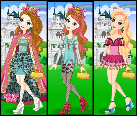 star sue your favorite characters dress up games are here 79 best images about ever after high games on pinterest