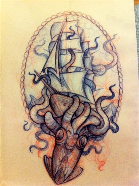 kraken tattoo designs best 25 kraken ideas on octopus sketch