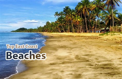 top east coast beaches everything beaches