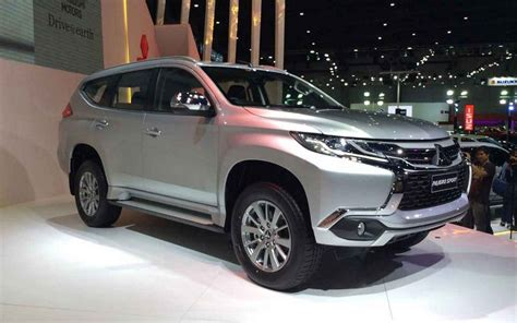 2019 Mitsubishi Montero by 2019 Mitsubishi Montero Review Release Date Redesign