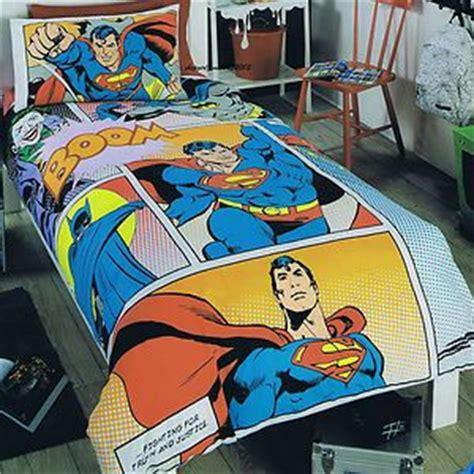 Superman Quilt Cover by Dc Comics Superman Batman Bed Quilt