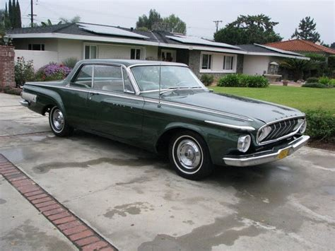 1962 dodge for sale sold gt 1962 dodge 500 polara hardtop original california