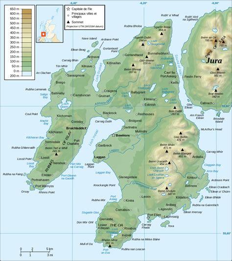 Printable Map Of Islay