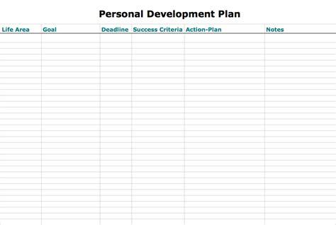 personal development plan template dự 225 n cần thử