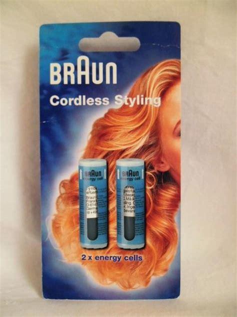 Braun Cordless Hair Dryer hair styling tools braun cordless styling 2 x cts energy