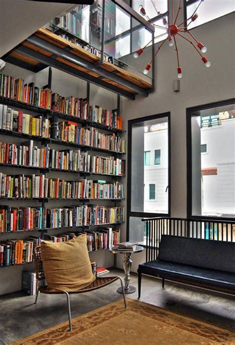 modern home library design ideas contemporary home 27 modern home library designs that stand out digsdigs