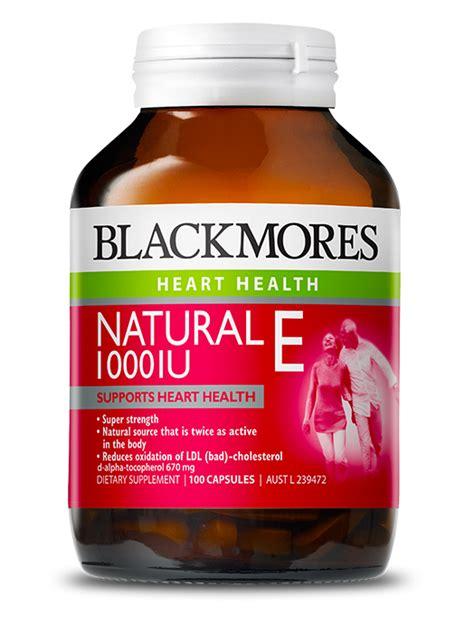 Vitamin Blackmores Malaysia Blackmores E 1000iu Blackmores