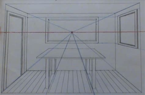 draw a room perspective drawing drawing a room in perspective