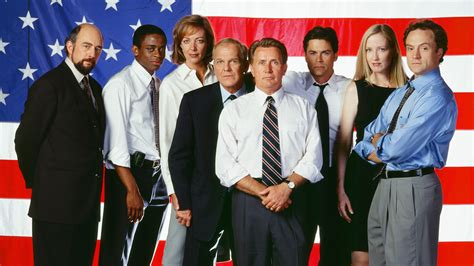 west wing west wing cast reunites reveals who president bartlet