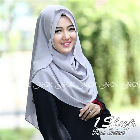 Jilbab Instan 1 Slup jilbab 1 slup hana instan model kekinian 2017 terbaru bundaku net