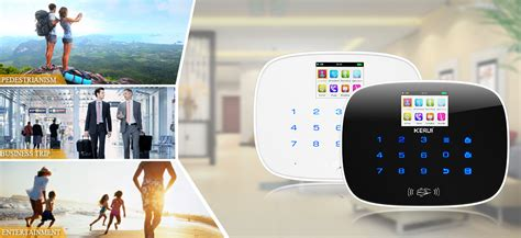 kerui g19 wireless gsm security alarm system home smart alarm
