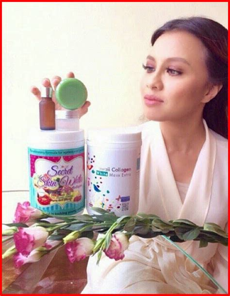 Collagen Kawaii original set of 2 box secret skin white kawaii collagen jihan lazada malaysia