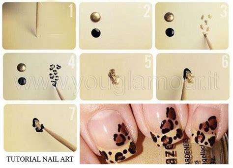 tutorial unghie nail art tutorial nail art unghie animalier in pochi minuti