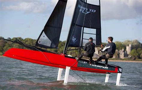 foiling catamaran for sale australia formula whisper how easy is it to foil yachting world