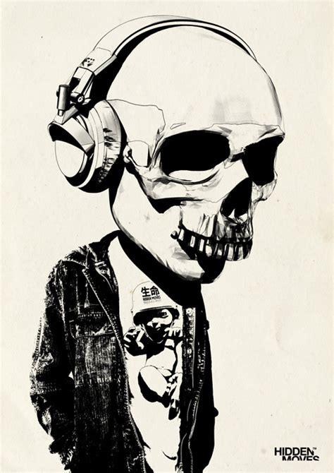 a few new skulls by theskullguy on deviantart bobblehead skull headphones by hiddenmoves on deviantart