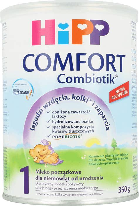 comfort i hipp comfort combiotik mleko początkowe dla niemowląt od