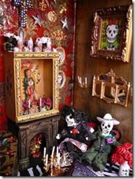 haunted doll frida frida kahlo altar by huerta as seen in the exhibit