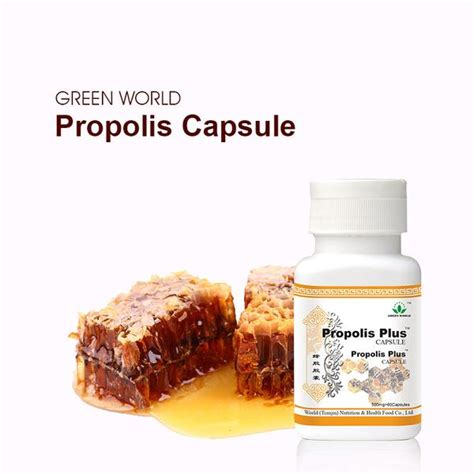 Radix Propolis propolis plus capsule green world tribe herbal