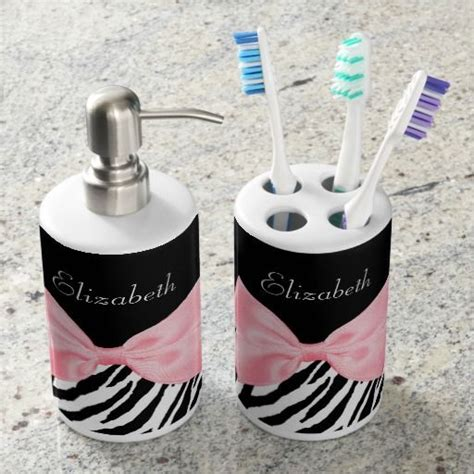girly bathroom accessories 1000 images about bathroom decor ideas pink and black