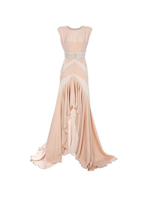 liska by kirchgrabner bead embellished dress in