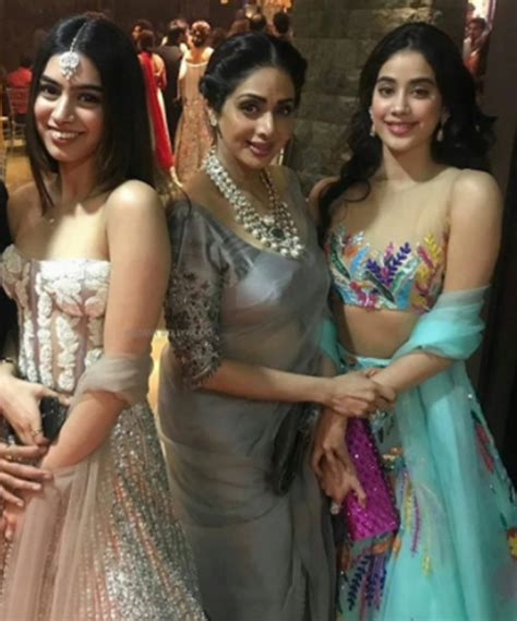 sridevi daughter photos photos sridevi with her family the indian express