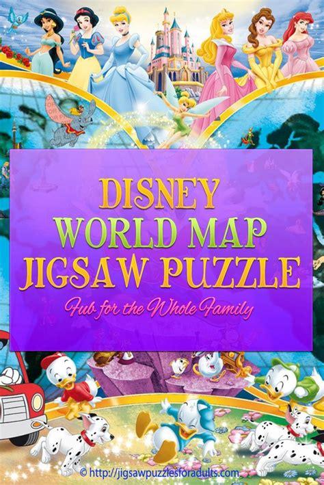 disney world map puzzle fabulous fun