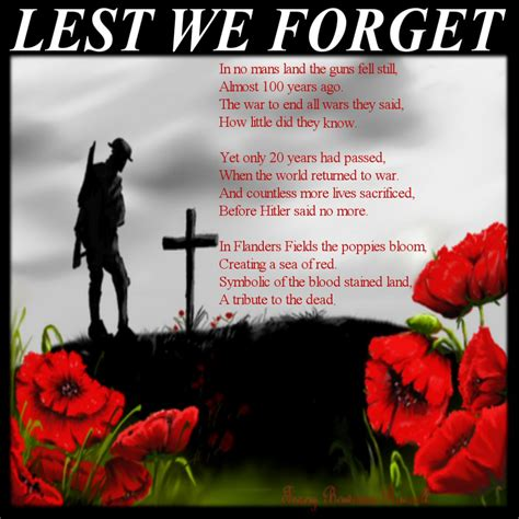 Lest We Forget by Patriotic Poetry Islamaphobe S