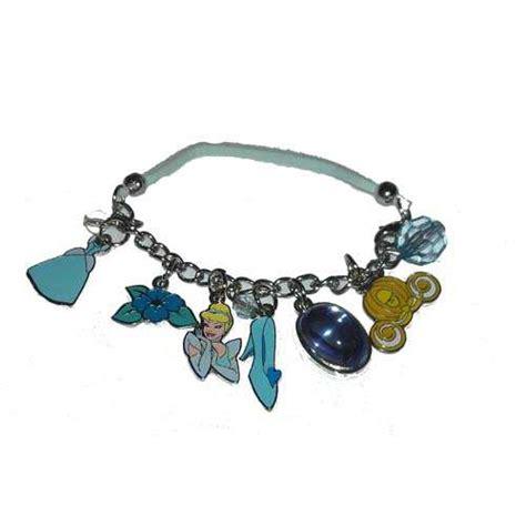 your wdw store disney bracelet cinderella charm bracelet