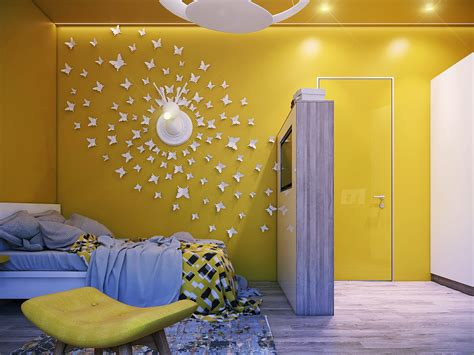 Yellow And Purple Bedroom Ideas by Great Purple And Yellow Bedroom Design Ideas With Stunning