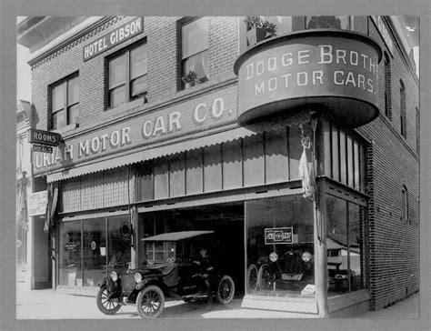 212 best Vintage car dealership images on Pinterest   Old