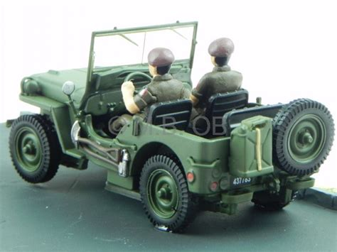 New Item Diecast Miniatur Mobil Jeep Willys Army Diecast Pajangan jeep willys green army diecast model car diorama altaya 1 43
