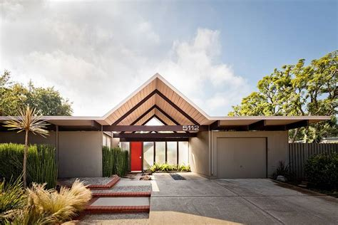 quincy jones and frederick emmons house in orange ca dc hillier s mcm daily joseph eichler