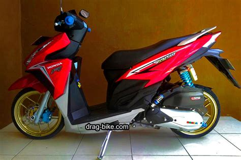 Variasi Warna Motor Modifikasi by 52 Modifikasi Vario 150 Jari Jari Esp Techno 125 Cbs Dan