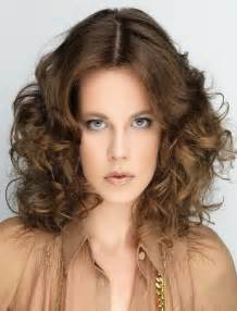 haircuts center part wavy hairstyles for short medium long hair best 46